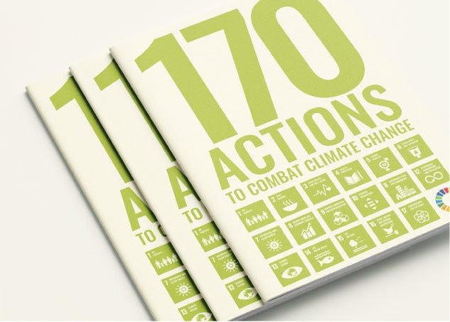 170 Actions to combat climate change